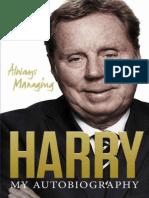 Always Managing - Harry Redknapp