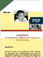 2. El Impacto de La Revolución Cubana en América Latina y Chile