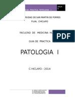 PATOLOGIA - I - 2014-GUIA PRACTICA.doc