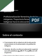 Mujeres y Educación Superior