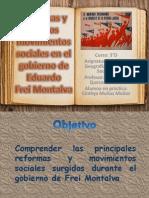 5. El Gobierno de Eduardo Frei II