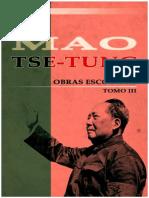 Mao Tse Tung Obras Escogidas Tomo III