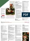 Fox Ornament Plush