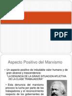 Asp. Positivos y Negativos del Marxismo