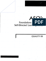 ASQ - Foundations in Quality Self-directed Learning Series