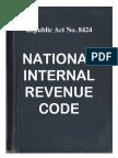 Nirc Tax Code