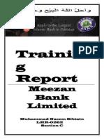 Report on Meezan Bank