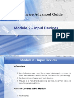 Module 2-Input Devices