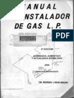 Manual de Instalador de Ga Lp