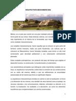 arq. mesoamericana