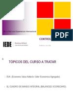 Diapos Mba Control de Gestión Llc Parte IV Octubre 2012