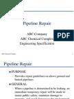 DOT Pipeline Repairs