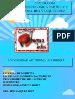Semiologia Ginecologica Comp 2012