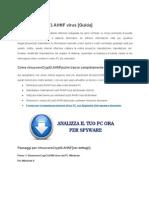 Guidalinee per disinstallare Crypt3.AHNF dal destinazione di computer