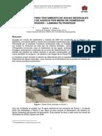 Articulo Planta de Tratamiento de Aguas Residuales