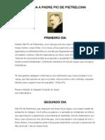 Novena a Padre Pio de Pietrelcina