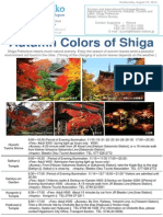 Autumn colors of Shiga