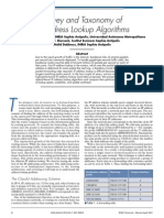 IP Address Lookup Algorithms