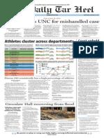 The Daily Tar Heel for September 3, 2014