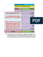 Filing Fees Master Calculator 2013