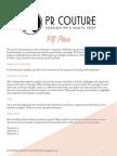 Fashion PR Plan 5