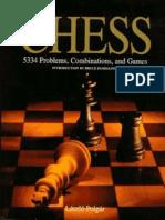 Laszlo Polgar - Chess 5334 Problems Combinations & Games