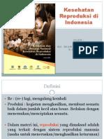 Kesehatan Reproduksi Di Indonesia