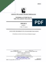 Terengganu SPM Trial 2010 Physics