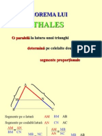 1 Teorema Lui Thales