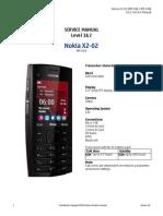 Nokia x2-02 Rm-694 Service Manual l1l2 v1.0