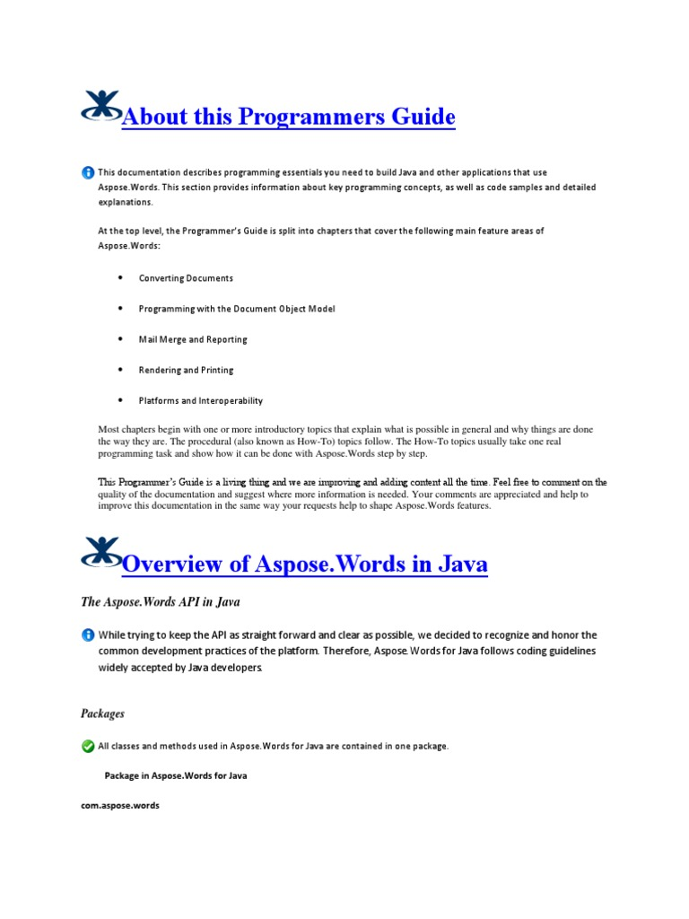Aspose Word Pdf Download