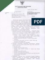 Instruksi Pengawasan DPT