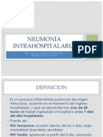 Usmp Neumonia Intrahospitalaria