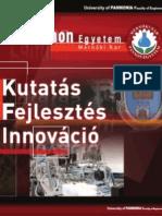 Pannon Egyetem Mérnöki Kar - Kutatás Fejlesztés Innováció