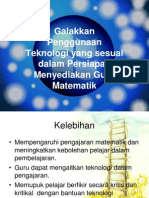 17370211 Teknologi Dalam Pengajaran Matematik 111217203723 Phpapp02