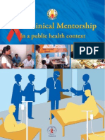 Clinical Mentorship in Public Health Settings