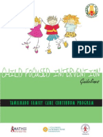 Guidelines for Child Focused Interventions