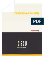 CSCU Module 01 Foundations of Security
