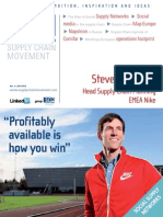 Cover Interview Steve Hochman Nike Supply in Chain Movement Q4 2012