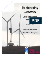 Niobrara Play Overview