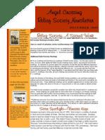 Newsletter- 09 Dec