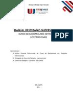 Manual de Estagio Supervisionado 2014