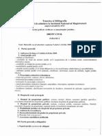 Tematica Si Bibliografia de Concurs (1.07.2014) (1)