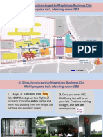 SLC2014 Directions to Get to Mapletree Business City
