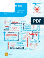 Air Canada Corporate Sustainability Report