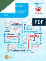 Air Canada Corporate Sustainability Report