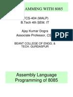 Microprocessor - MALP Edusat