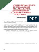 Beton Projete - Procedures