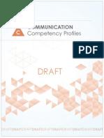 Communication Competency Profiles