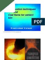 Coal Flames for Cement Kilns